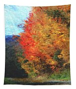 Autumn Roadside Tapestry