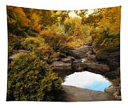 Autumn Rock Garden Tapestry