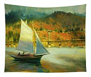 Autumn Sail Tapestry