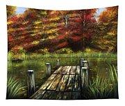 Autumn Serenity Tapestry