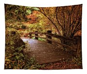 Autumn Splendor Bridge Tapestry