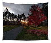 Autumn Sunset, Shawnigan Lake Tapestry