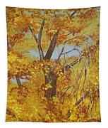 Autumn Treetops Tapestry
