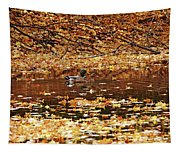 Autumns Mallards Tapestry