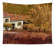 Autunno Rosso Tapestry