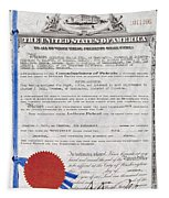 Aviation Patent, 1911 Tapestry