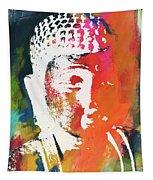 Awakened Buddha 5- Art By Linda Woods Tapestry