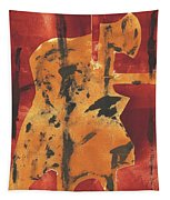 Axeman 3 Tapestry