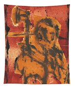 Axeman 5 Tapestry