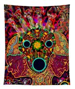 Ayahuasca Dimensional Encounter Tapestry