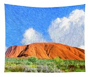 Ayers Rock Tapestry