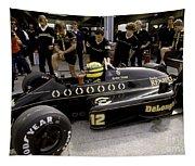 Ayrton Senna. 1986 German Grand Prix Tapestry