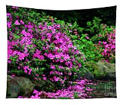 Azalea Waterfall At The Azalea Festival Tapestry