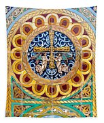 Azulejo - Colorful Details Tapestry