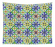 Azulejos Magic Pattern - 11 Tapestry