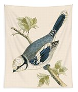Azure Tit Tapestry