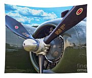 B-25 Engine Tapestry