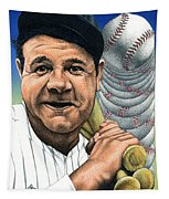 Babe Ruth Tapestry