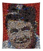Babr Ruth Puzzle Piece Mosaic Tapestry