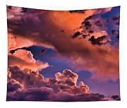 Baby Dragon's Fledgling Flight Tapestry