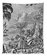 Babylon: Sun Worship Tapestry