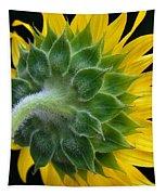 Back Of Sunflower Tapestry