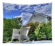 Back Porch In Summer Tapestry