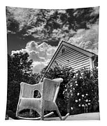 Back Porch Rocking Chair Tapestry