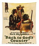 Back To God's Country 1919 Tapestry