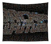 Back To The Future Mosaic Tapestry