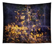 Backlit Beauty Tapestry