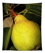 Backyard Garden Series - One Pear Tapestry