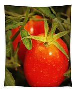 Backyard Garden Series - Roma Tomatoes Tapestry