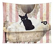 Bad Cat I Tapestry