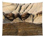 Badlands Drumheller Alberta Canada 4 Tapestry