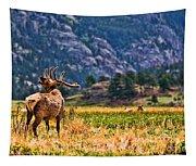 Badlands Elk  Tapestry