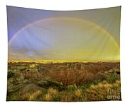 Badlands Rainbow Promise Tapestry