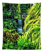 Bahamas - Tropical Waterfall Tapestry