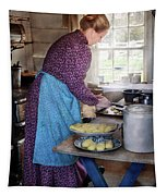Baker - Preparing Dinner Tapestry