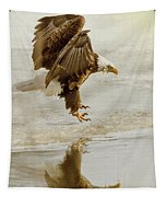 Bald Eagle Series #1 - Eagle Is Landing Tapestry