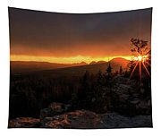 Bald Mountain Sunset Tapestry