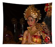 Balinese Dancer Tapestry