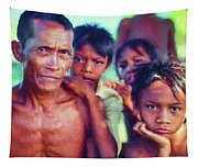 Balinese Gothic - Paint Tapestry
