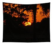 Ball Of Fire Tapestry
