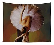 Ballerina Art 0421 Tapestry