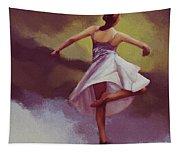 Ballerina Dance 0391 Tapestry