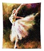 Ballerina Girl Tapestry