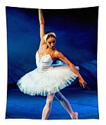 Ballerina On Stage L B Tapestry