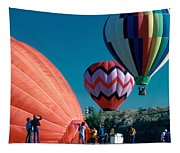 Ballon Launch Tapestry