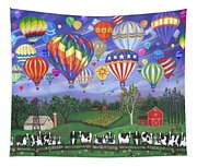 Balloon Race Two Tapestry
